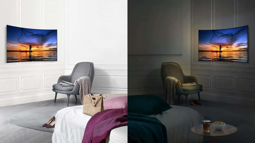Samsung QLED TV Q Contrast