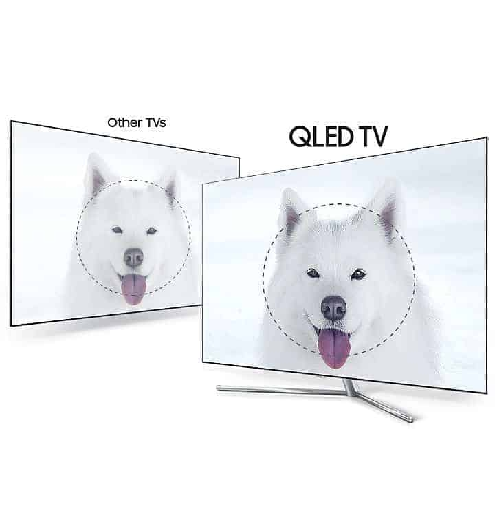 Samsung QLED TV HDR 1500