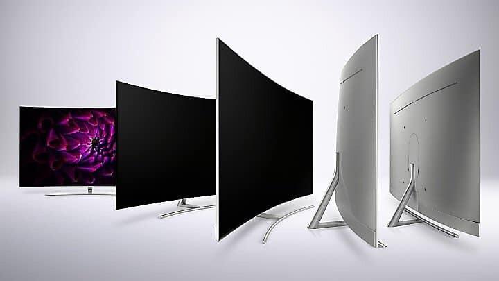 QLED Q8C 360 Grad Design