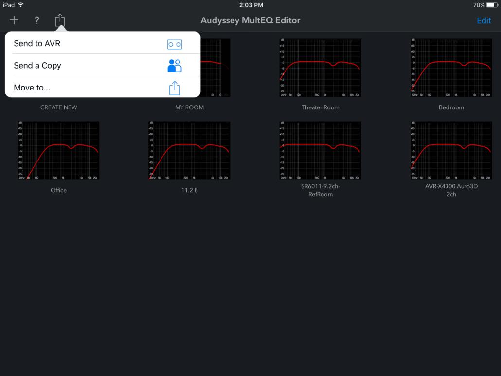 Denon Audyssey MultEQ Editor-App