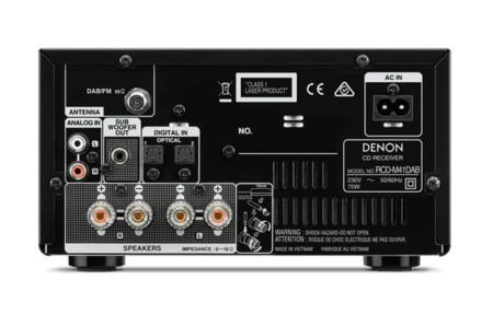 Denon D-M41DAB HiFi-System