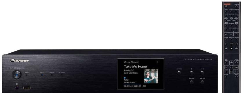 N-50AE(B) Pioneer Pure Audio Netzwerkspieler