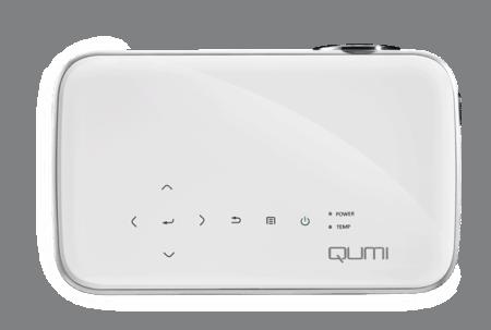 Vivitek Qumi Q8-WH Oben