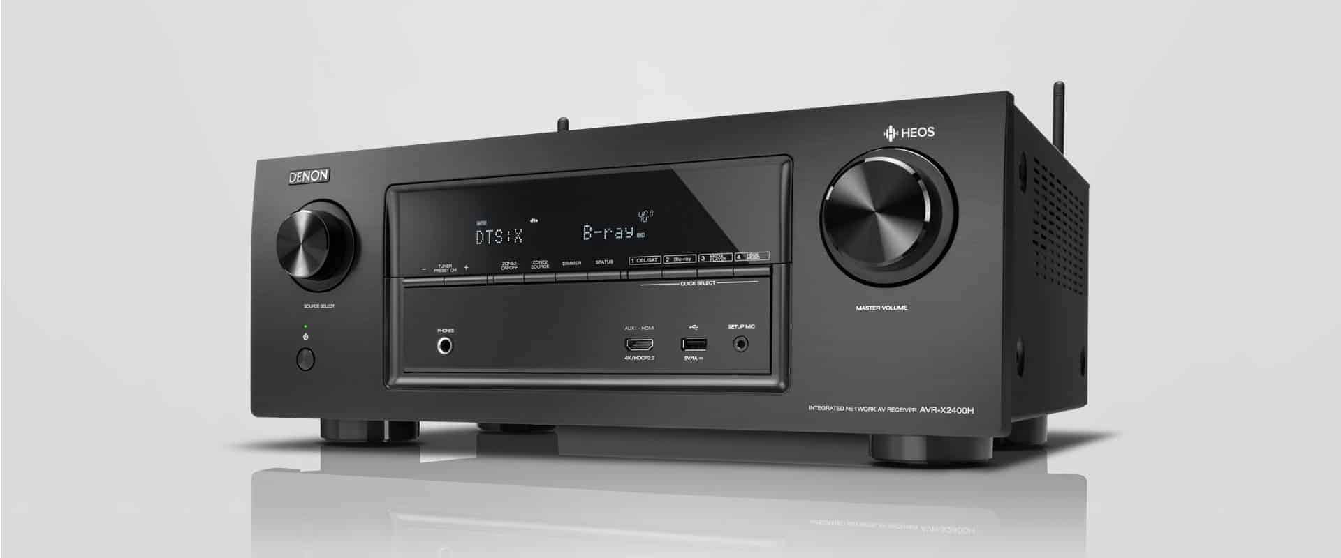Denon AVR-X2400H 7.2-Kanal-AV-Surround-Receiver