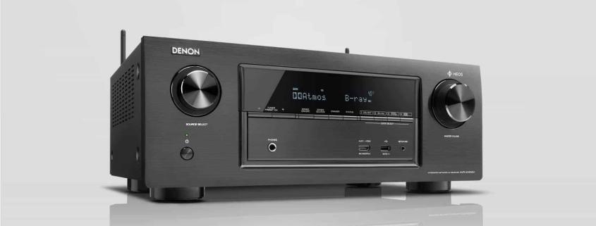 Denon AVR-X2400H 7.2-Kanal-AV-Surround-Receiver