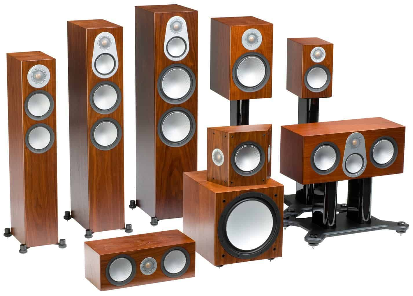 Monitor Audio Heimkinopartner Bronze 6 Walnut