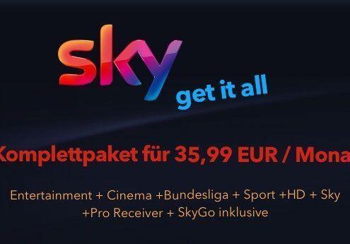 Sky get it all