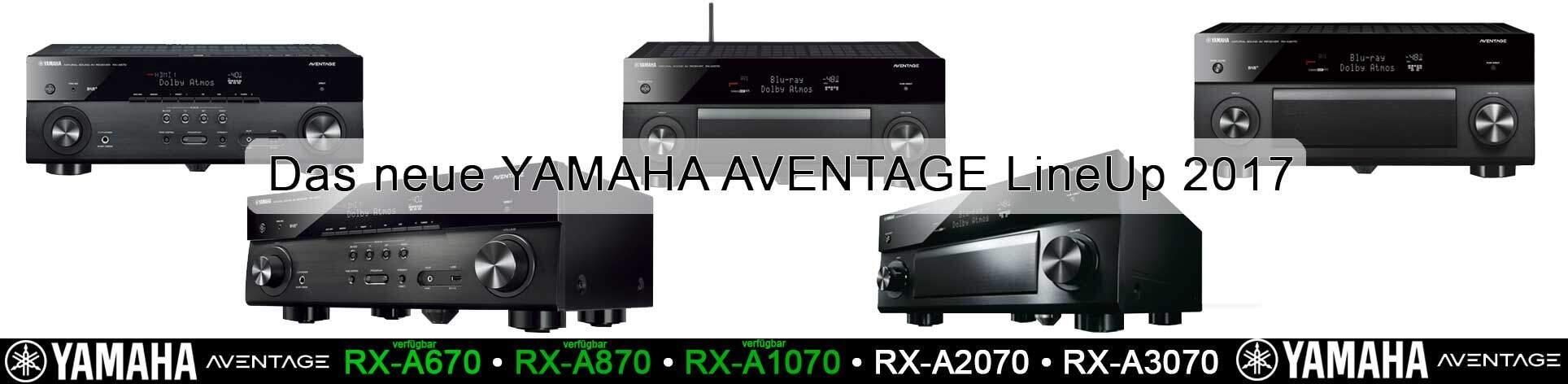 Yamaha Aventage 2017