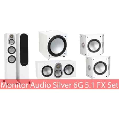 Monitor Audio Silver 6G FX Set