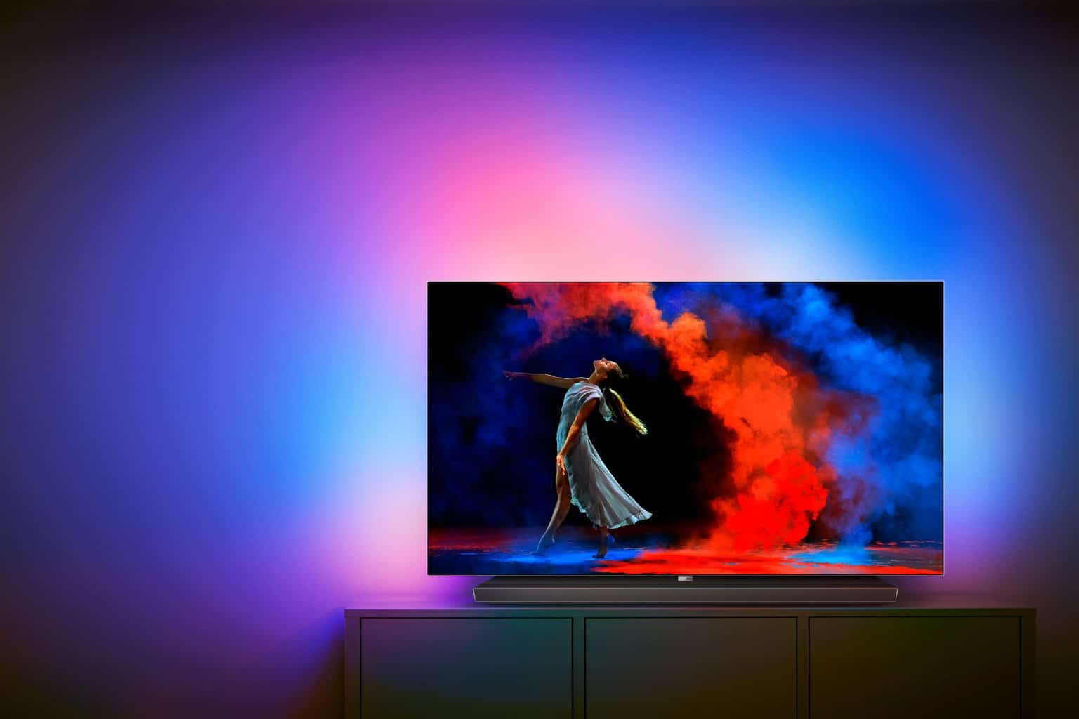 der neue philips 65 zoll oled 9er serie tv heimkinopartner. Black Bedroom Furniture Sets. Home Design Ideas