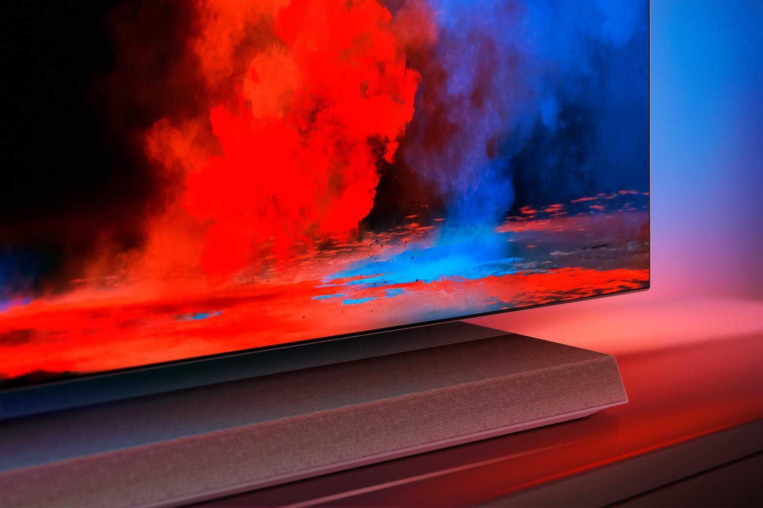 der neue philips 65 zoll oled 9er serie tv heimkinopartner. Black Bedroom Furniture Sets. Home Design Ideas
