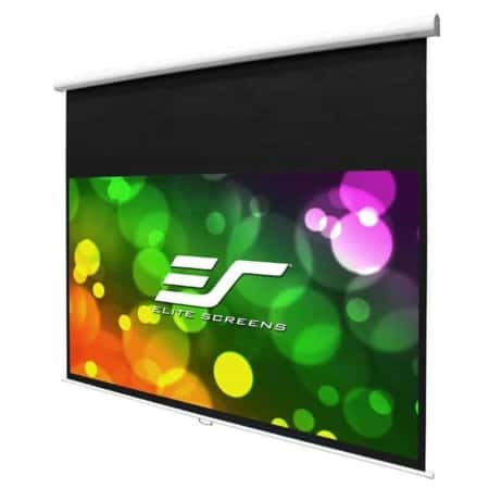 Elite Screens Manual HT Premium Rollo Leinwand