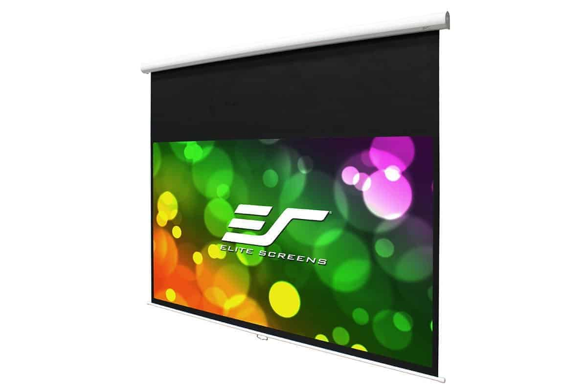 Elite Screens Manual HT Premium Rollo Leinwand