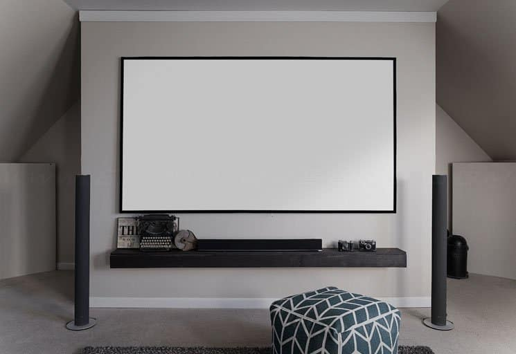 Elite Screens Aeon Edge Free AcousticPro-UHD