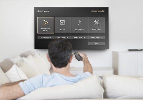 Marantz SR8012 Audyssey-app Smart-tv