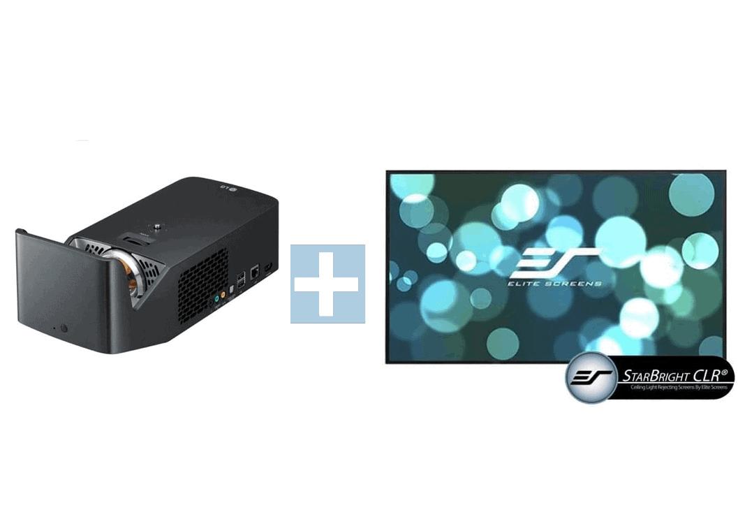 LG Adagio inkl. Elite Screens CLR Leinwand - Heimkinopartner