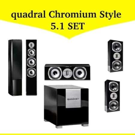 quadral Chromium Style 5.1 Set #2
