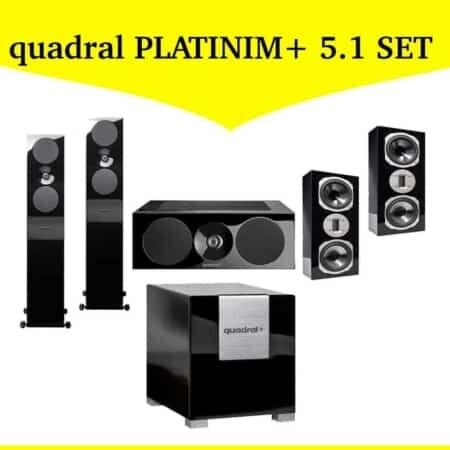 quadral PLATINUM+ 5.1 Set