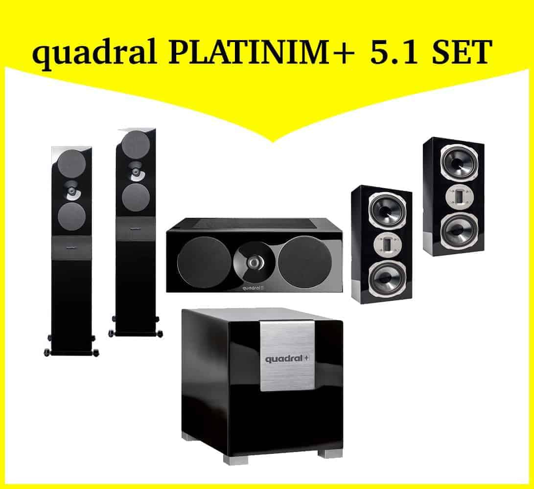 quadral PLATINUM+ 5.1 Set