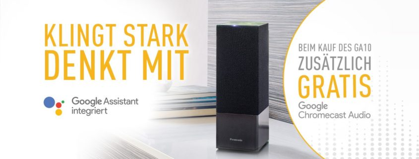 SC-GA10 kaufen und Google Chromecast Audio dazu bekommen