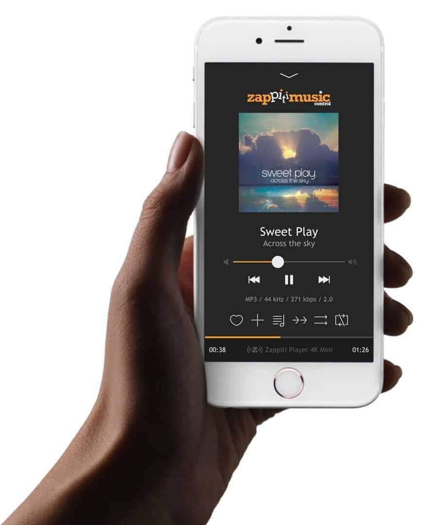 Zappiti Music Smartphone App