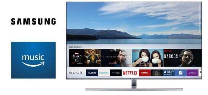 Amazon Music jetzt auf Samsung Smart TVs verfügbar