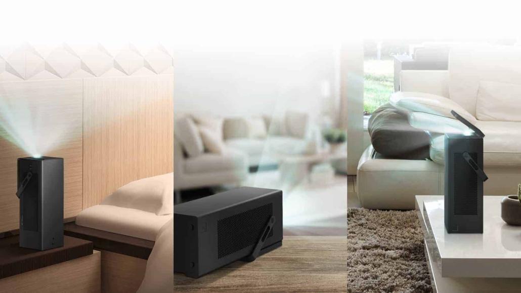 LG präsentiert ersten 4K Projektor HU80K