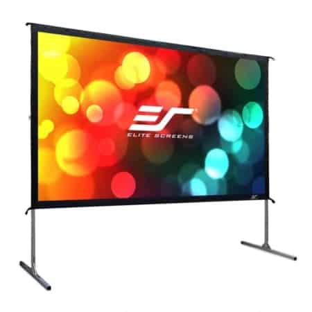 Elite Screens Yard Master 2 Mobile Outdoor Leinwand