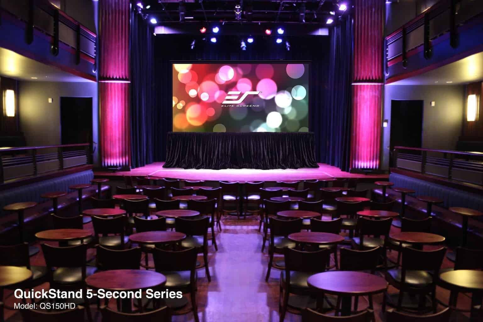 Elite Screens QuickStand 5-Second Kofferleinwand
