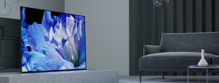 Sony TV Line Up 2018 - OLED und LCD 4K HDR Fernseher