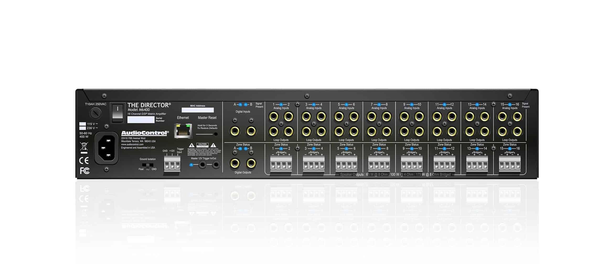Audio Control Director M6400