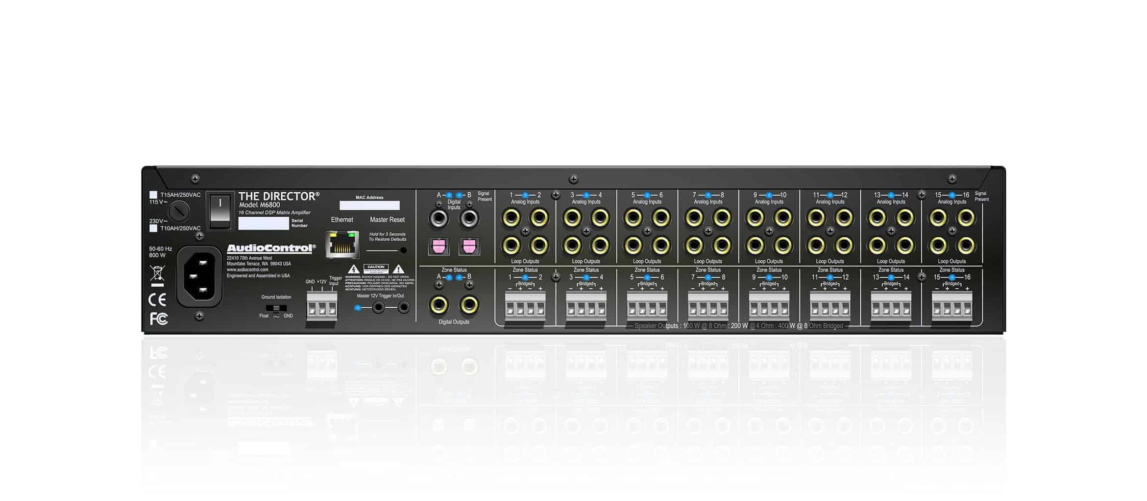 AudioControl Director M6800