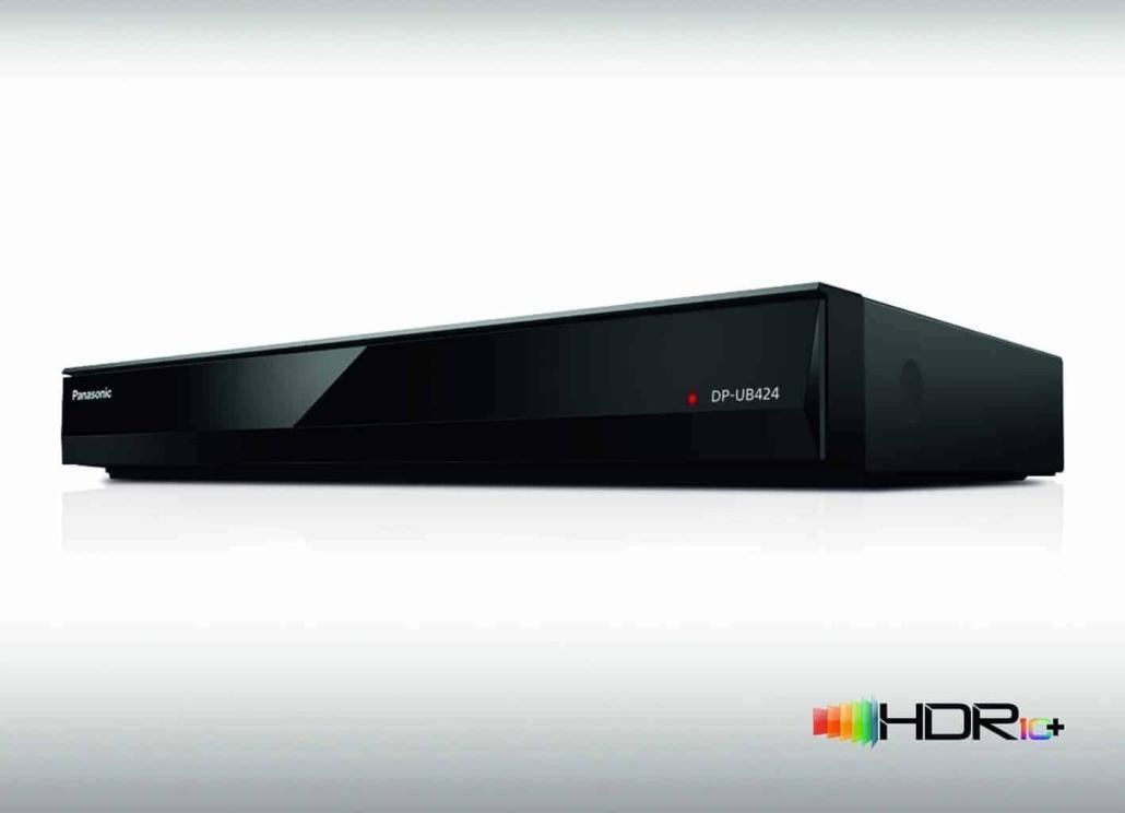 Panasonic Ultra HD Blu-ray Player DP-UB824 und DP-UB424