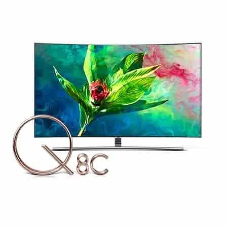 Samsung QE55Q8CN Curved QLED 4K TV