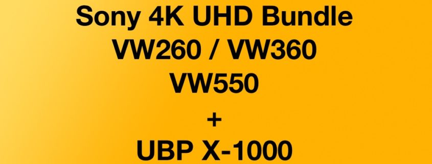 Sony 4K UHD Bundle