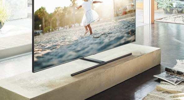 Samsung präsentiert QLED TV-Generation 2018