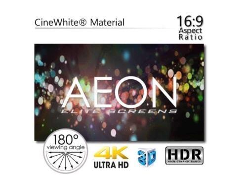 "Elite Screens Aeon Edge Free CineGrey 5D 150"" Zoll"