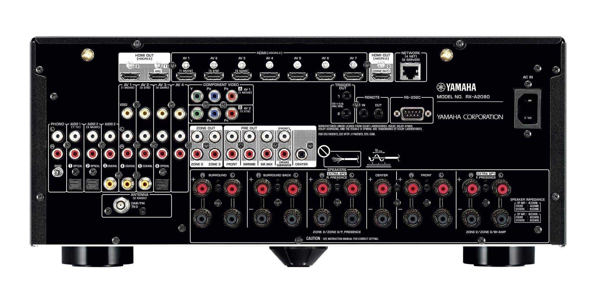 Yamaha Rx V Specs