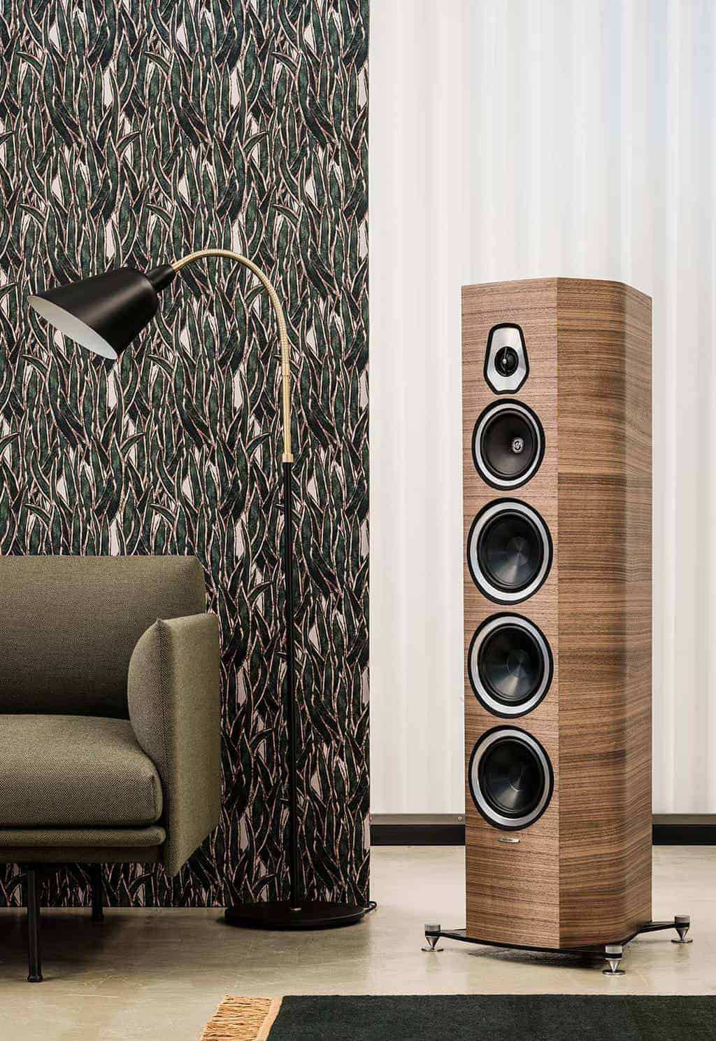 Die Sonus Faber Sonetto in Walnuss