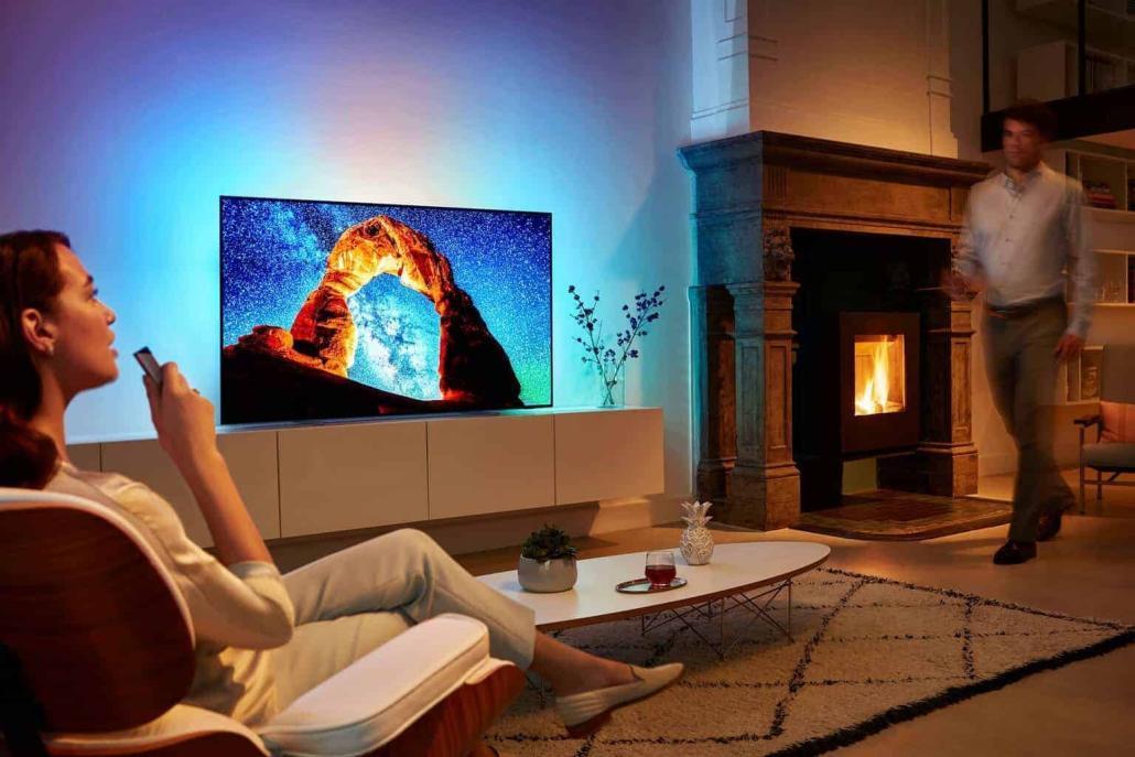Philips TV bringt neuen Ambilight OLED-TV