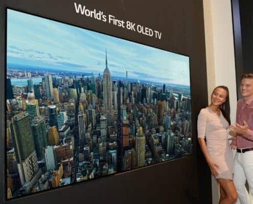 8K OLED-TV