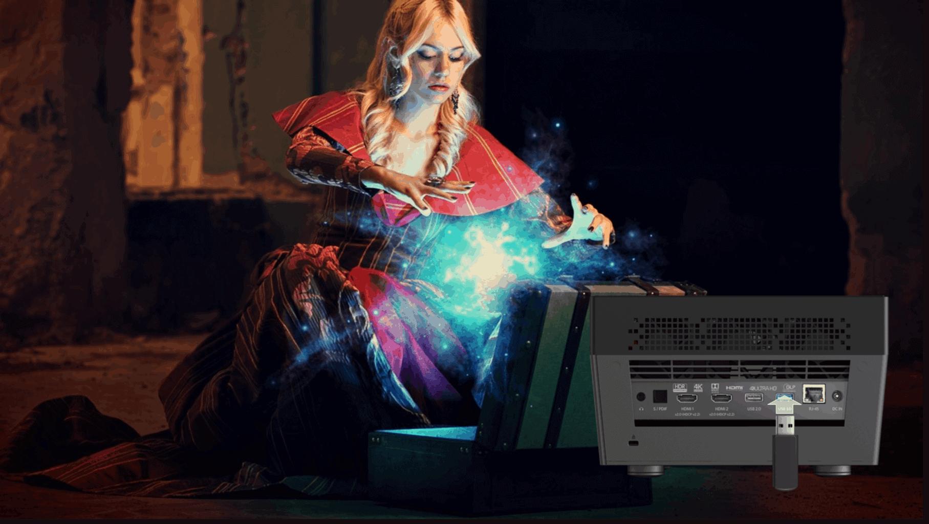 Optoma UHL55 4K Ultra HD LED-Projektor
