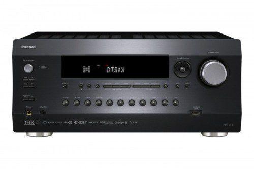 Integra DRX-R1.1 - 11.2 A/V Receiver AV Receiver 11.2 Kanal, 140W/Ch, 7.2.4 Dolby Atmos, THX Select2 Plus, DTS:X, HDMI 8/2, Zone 2 HDMI Out, HDMI HDR/HDCP2.2/4K, 11.2 PreOuts, HDBaseT Port