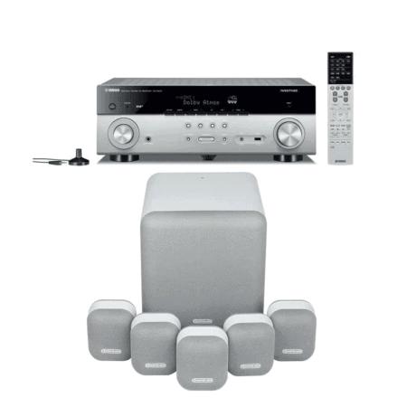 Monitor Audio MASS 5.1 + Yamaha RX-A680