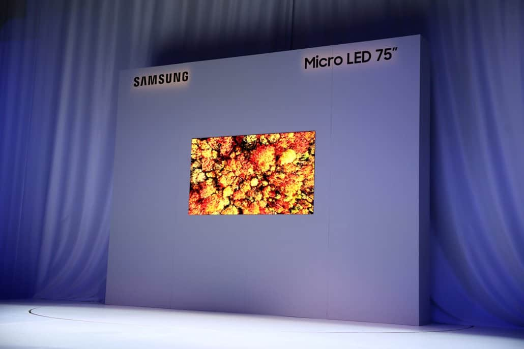 Samsung Micro LED Fernseher Smart TV