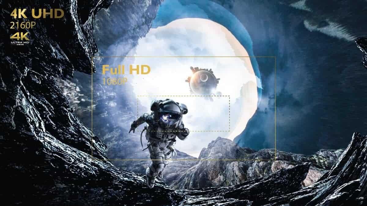 BenQ 4K UHD 2160p