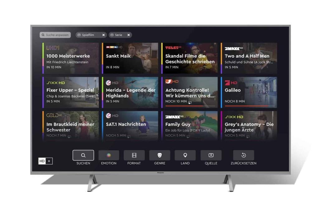Panasonic HbbTV der nächsten Generation
