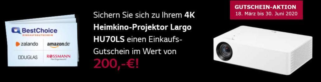 Largo4K HDR bestChoice 200,00 EUR Gutschein