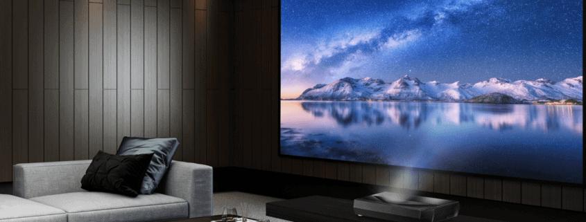 Optoma UHZ65UST Laser TV