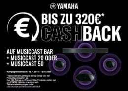 Yamaha TrueSound Cashback Aktion